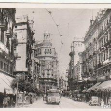 Postales: POSTAL VALENCIA CALLE DE LAS BARCAS ESCRITA EN 1945 - -R-7. Lote 180264125