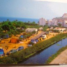Postales: POSTAL PEÑISCOLA -CAMPING EL RIO --CIRCULADA. Lote 180274625