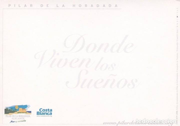 Postales: POSTAL PILAR DE LA HORADADA. ALICANTE - COSTA BLANCA - Foto 2 - 180278791