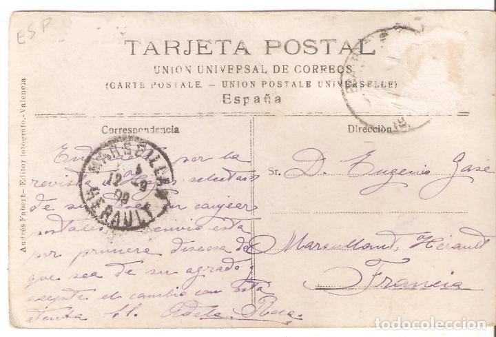 Postales: Exposicion regional valenciana. 56. Vista parciall. Andres Fabert, Valencia. escrita. .Vell i Bell - Foto 2 - 180342561