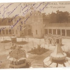 Postales: EXPOSICION REGIONAL VALENCIANA. 56. VISTA PARCIALL. ANDRES FABERT, VALENCIA. ESCRITA. .VELL I BELL. Lote 180342561