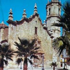 Postales: POSTAL DE BENICARLÓ - IGLESIA PARROQUIAL. Lote 182085440