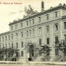Postales: VALENCIA FABRICA DE TABACOS. Lote 182808576