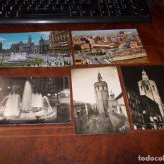 Postales: LOTE 5 POSTALES VALENCIA, VER FOTOS. Lote 182890255