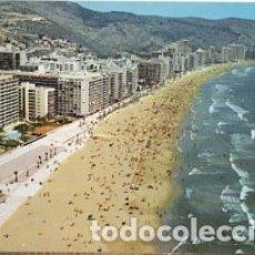 Postales: VALENCIA - CULLERA - Nº 341 VISTA AEREA DE LA PLAYA Y PASEO MARITIMO - AÑO 1976 - SIN CIRCULAR. Lote 182895691