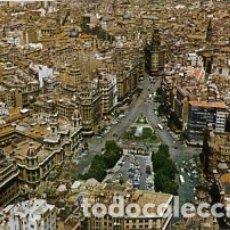 Postales: VALENCIA - Nº 1084 VISTA AEREA PLAZA DEL CAUDILLO - AÑO 1966 - SIN CIRCULAR. Lote 182896508