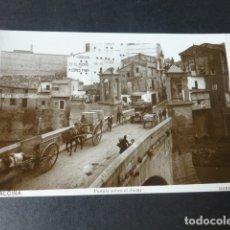 Postales: ALCIRA VALENCIA PUENTE SOBRE EL JUCAR. Lote 182979808