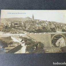Postales: BOCAIRENTE VALENCIA VISTA GENERAL POSTAL FOTOGRAFICA. Lote 182980350