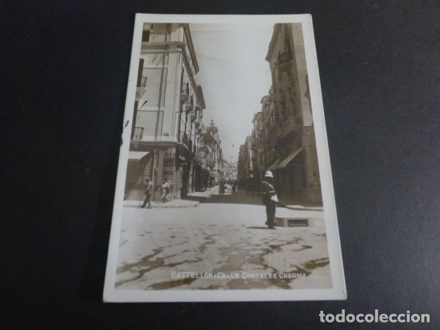 CASTELLON CALLE GONZALEZ CHERMA (Postales - España - Comunidad Valenciana Antigua (hasta 1939))