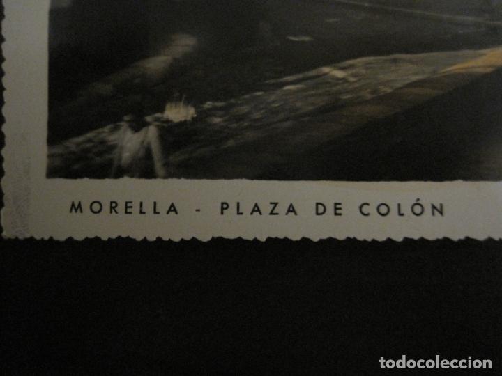 Postales: MORELLA-PLAZA DE COLON-ED·R.GUIMERA-POSTAL FOTOGRAFICA ANTIGUA-(64.178) - Foto 3 - 183195663