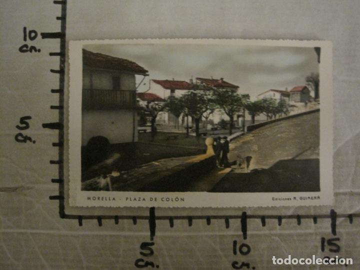 Postales: MORELLA-PLAZA DE COLON-ED·R.GUIMERA-POSTAL FOTOGRAFICA ANTIGUA-(64.178) - Foto 6 - 183195663