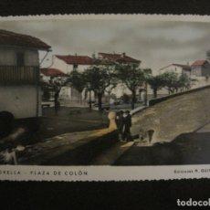 Postales: MORELLA-PLAZA DE COLON-ED·R.GUIMERA-POSTAL FOTOGRAFICA ANTIGUA-(64.178). Lote 183195663