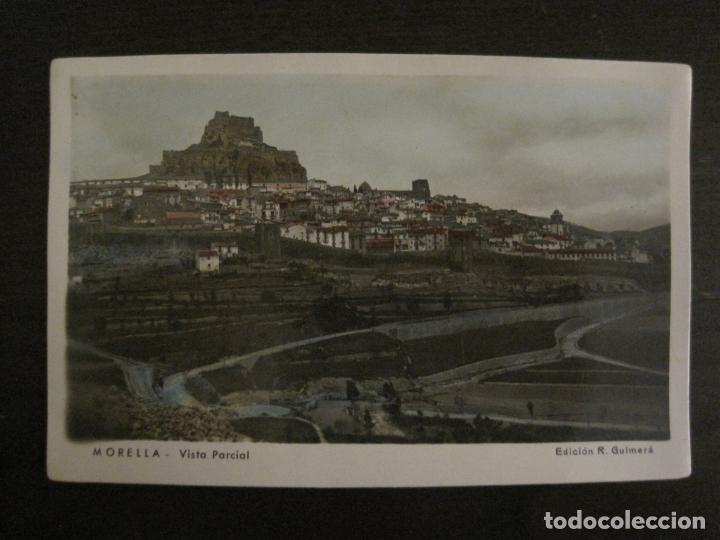MORELLA-VISTA PARCIAL-ED·R.GUIMERA-POSTAL FOTOGRAFICA ANTIGUA-(64.180) (Postales - España - Comunidad Valenciana Antigua (hasta 1939))