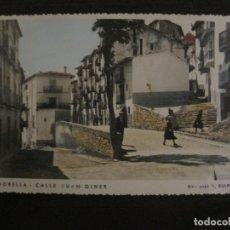 Postales: MORELLA-CALLE JUAN GINER-ED·R.GUIMERA-POSTAL FOTOGRAFICA ANTIGUA-(64.182). Lote 183196122