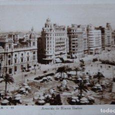 Postales: P-9610. VALENCIA. AVENIDA DE BLASCO IBAÑEZ. FOTO DURÓ. AÑOS 50. CIRCULADA.. Lote 183294692