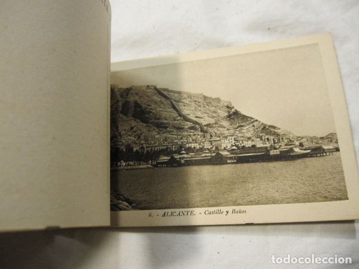 Postales: ALICANTE ALACANT BLOC DE POSTALES. L. ROISIN. 14 POSTALES. 14 X 9 CM - Foto 4 - 183456521