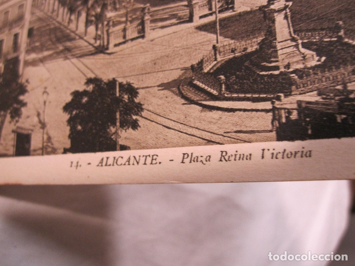 Postales: ALICANTE ALACANT BLOC DE POSTALES. L. ROISIN. 14 POSTALES. 14 X 9 CM - Foto 7 - 183456521