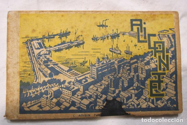 ALICANTE ALACANT BLOC DE POSTALES. L. ROISIN. 14 POSTALES. 14 X 9 CM (Postales - España - Comunidad Valenciana Antigua (hasta 1939))