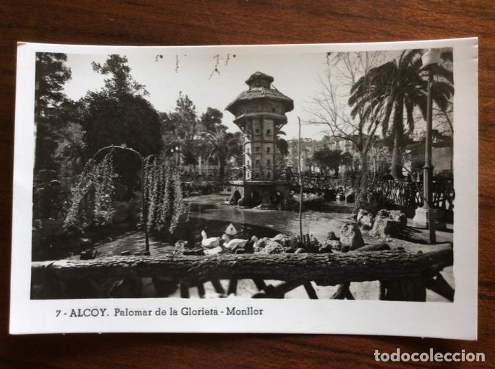 POSTAL FOTOGRÁFICA. MONLLOR 7. PALOMAR DE LA GLORIETA. ALCOY. ALICANTE. (Postales - España - Comunidad Valenciana Antigua (hasta 1939))