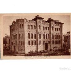 Postales: CASTELLÓN.- CASA DE CORREOS Y TELÉGRAFOS.. Lote 183568385