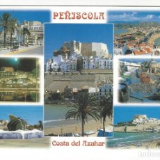 Postales: PEÑISCOLA - COSTA DEL AZAHAR.. Lote 183569013