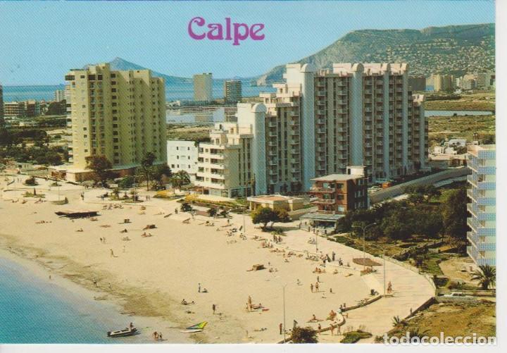 (83) CALPE. ALICANTE. VISTA PARCIAL PLAYA DE LEVANTE (Postales - España - Comunidad Valenciana Moderna (desde 1940))
