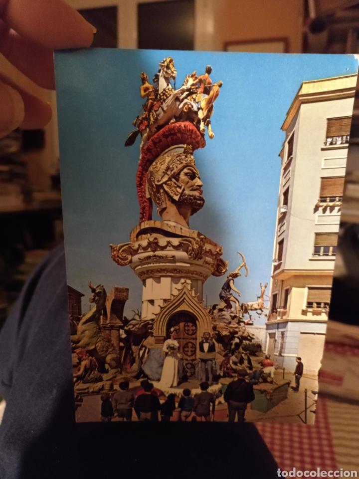 FALLAS 1967 FELICITACIÓN NAVIDEÑA (Postales - España - Comunidad Valenciana Moderna (desde 1940))