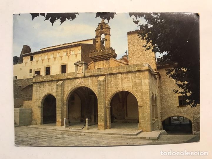 TRAIGUERA (CASTELLÓN) POSTAL REIAL SANTUARI VERGE FONT DE LA SALUT. FACANA DEL PORTIC ...(A.1995) (Postales - España - Comunidad Valenciana Moderna (desde 1940))