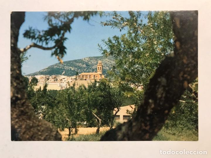 TRAIGUERA (CASTELLÓN) POSTAL NORD DE LA VILA AMB L'ESGLESIA PARROQUIAL. EDITA: ED. AFAR (H.1990?) (Postales - España - Comunidad Valenciana Moderna (desde 1940))