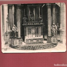 Postales: FOTOGRAFIA ORIGINAL ALTAR DE LA VIRGEN DE LA SEO EN JATIVA COLEGIATA AGOSTO DE 1936 FOTO CARLOS SART. Lote 184561672