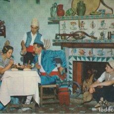 Cartoline: VALENCIA, TIPOS REGIONALES – ED. RESTAURANTE CASA CESAREO – EDITADA EN 1960 – S/C. Lote 185881478