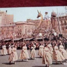 Postales: VALENCIA PLAZA DEL CAUDILLO 1960. Lote 185894407