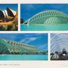 Postales: VALENCIA, CIUDAD DE LAS ARTES Y LAS CIENCIAS - S/C - (17X12). Lote 185894925