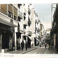 Postales: CASTELLON VINAROZ CALLE MAYOR. ED. T. MIRALLES. POSTAL FOTOGRÁFICA EN BLANCO Y NEGRO, COLOREADA. Lote 186448983