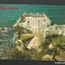 Postales: POSTAL CIRCULADA - BENIDORM 1546 - ALICANTE - EDITA PERLA. Lote 186763295