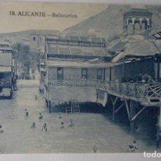 Postales: ALICANTE - BALNEARIOS - 8 - 12. Lote 187086842