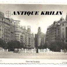 Postales: VALENCIA .- PLAZA DEL CAUDILLO .- EDICIONES ARRIBAS . Lote 187091843