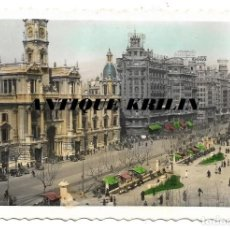 Postales: VALENCIA Nº 31 .- PLAZA DEL CAUDILLO .- EDICIONES CRIS-ADAM . Lote 187091906