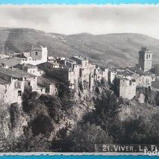 Postales: VIVER POSTAL FOTOGRÁFICA VISTA DESDE LA FLORESTA CASTELLÓN 1956. Lote 187096357