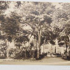 Postales: ALICANTE, PAPELERÍA MARIMON, PLAZA REINA VICTORIA. Lote 187330107
