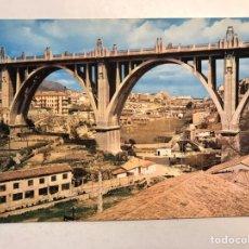 Postales: ALCOY (ALICANTE) POSTAL NO.2008, PUENTE DE SAN JORGE. EDITA: EDICIONES ARRIBAS (A.1964). Lote 187333698