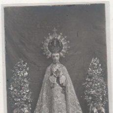 Postales: POSTAL FOTOGRÁFICA VIRGEN NUESTRA SEÑORA DE LA ASUNCIÓN PATRONA ELCHE ALICANTE. SIN CIRCULAR. . Lote 187384927
