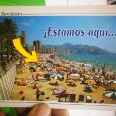 Postales: POSTAL BENIDORM ALICANTE N 364 SUBIRATS CASANOVAS. Lote 187458307