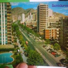 Postales: POSTAL BENIDORM AVENIDA DEL MEDITERRÁNEO N 79 GALIANA. Lote 187459363