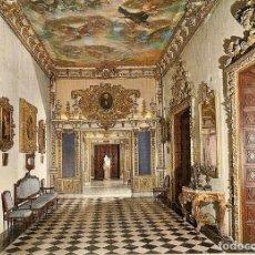 Postales: POSTAL GANDIA Nº 24 - PALACIO DEL SANTO DUQUE - GALERIA DORADA. Lote 187474421