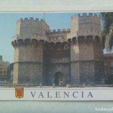 Postales: POSTAL DE VALENCIA : TORRES DE SERRANOS. Lote 187491375