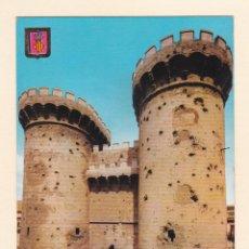 Postales: POSTAL TORRES DE CUARTE. VALENCIA - COLECCION CASTILLOS Y FORTALEZAS. ESCUDO DE ORO. Lote 187493525