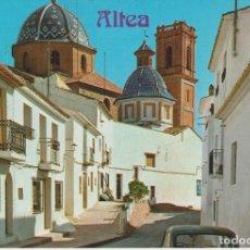 Postales: (52) ALTEA. ALICANTE ... POSTAL CON PUBLICIDAD ( VER SCAN). Lote 187511533