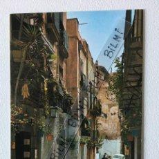 Postales: ALICANTE, POSTAL DE BARRIO TIPICO. Lote 189085498