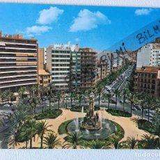 Postales: ALICANTE, POSTAL PLAZA DE LOS LUCEROS. Lote 189086168